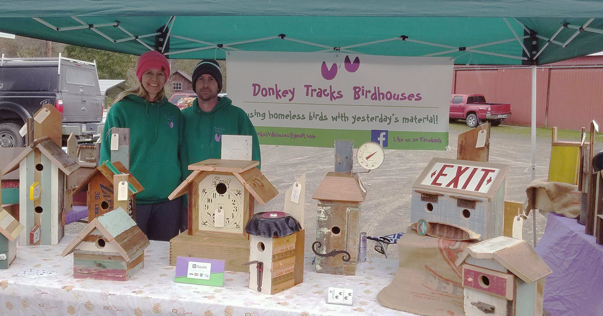 The Donkey Tracks Birdhouse Team